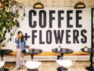 coffee and flowers cafe